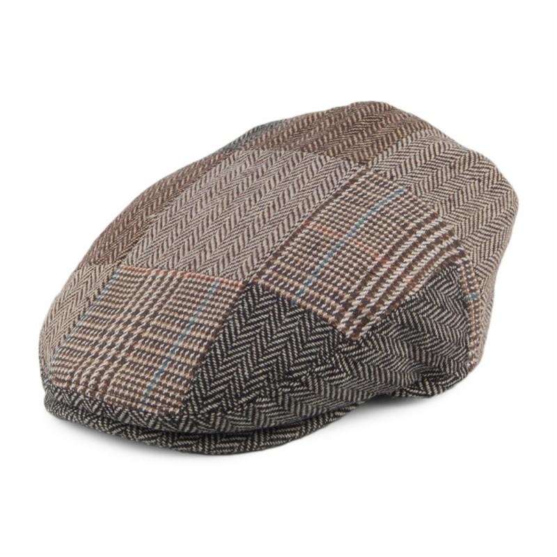KIDS PATCH FLAT CAP MULTI-COLOURED