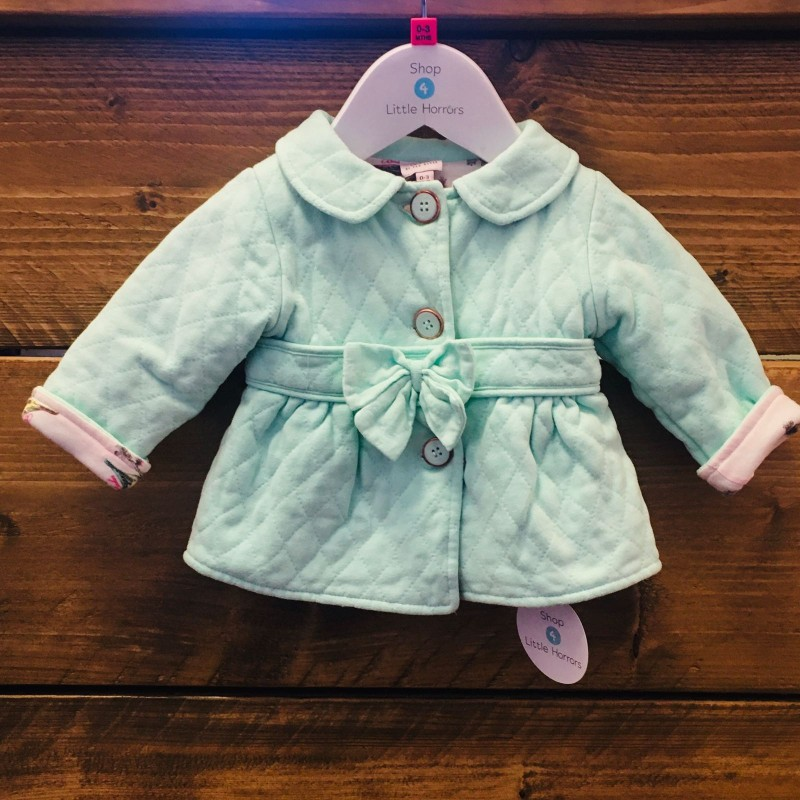 TED BAKER GIRLS JACKET 0-3M