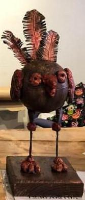 Färdig konst Quirky Bird