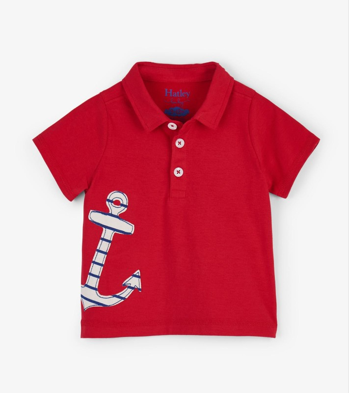 Hatley Anchor Baby Polo