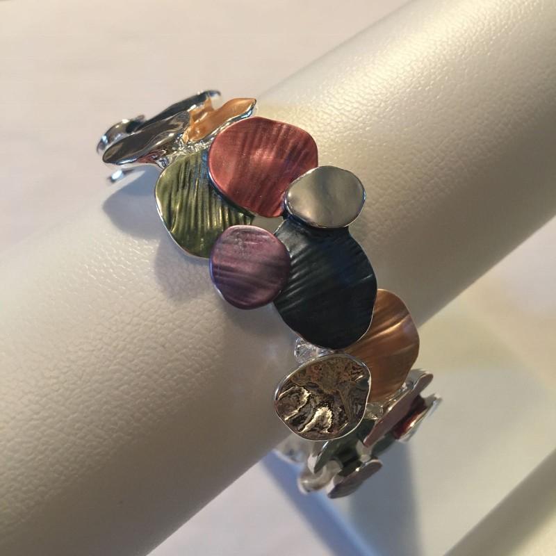 Disc Bracelet - Multicoloured