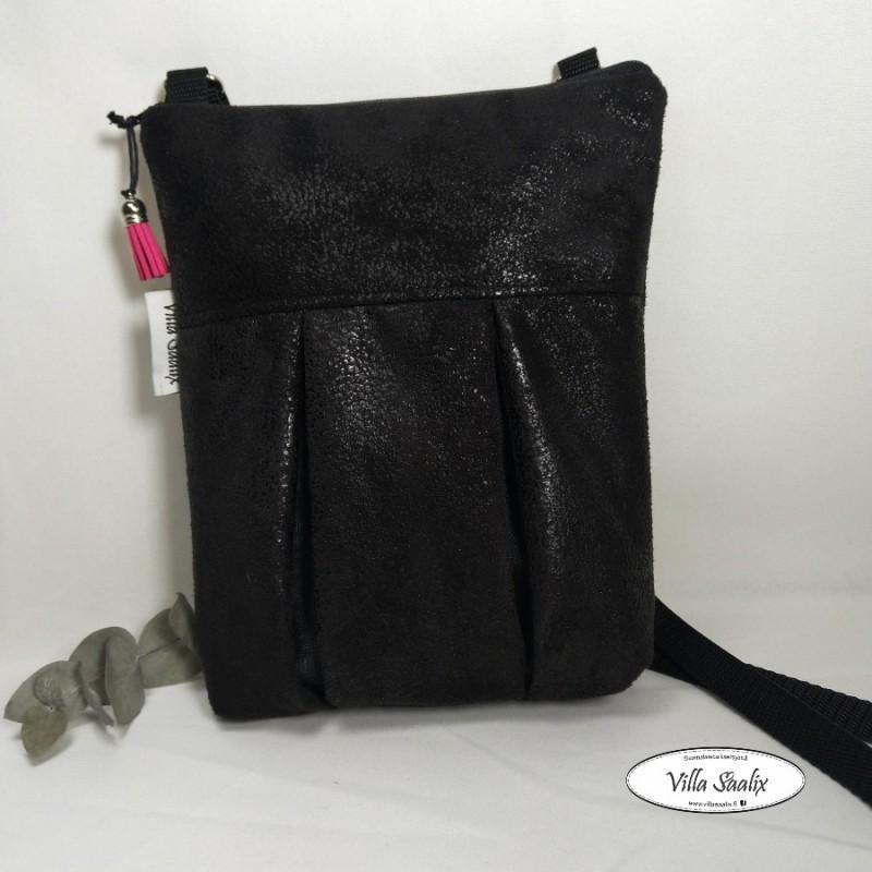 Pilkahdus-laukku Tekstiilinahka (hohtava pinta)