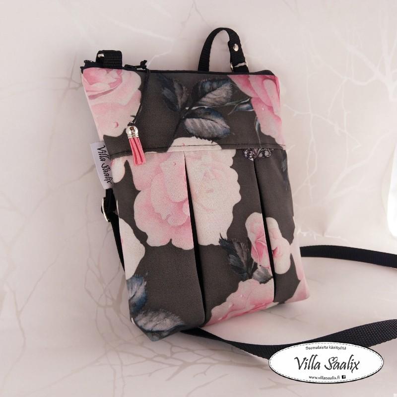 Pilkahdus-laukku Ruusunaikaan