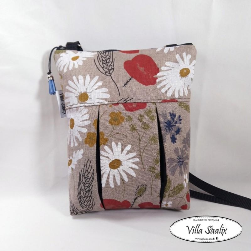 Pilkahdus-laukku Pellavakukat