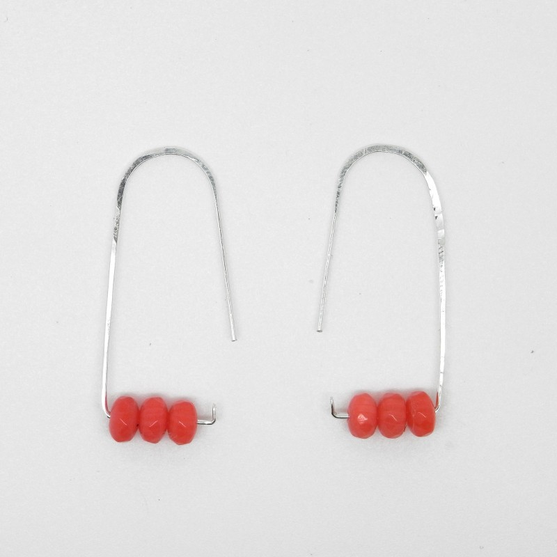 Coral Earrings 1