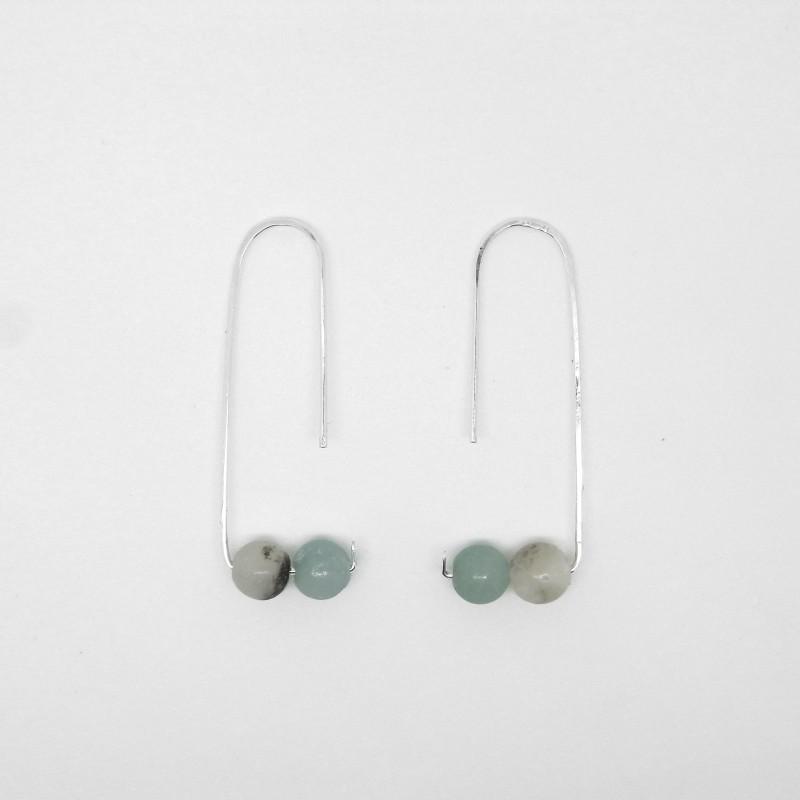 Amazonite Earrings 1