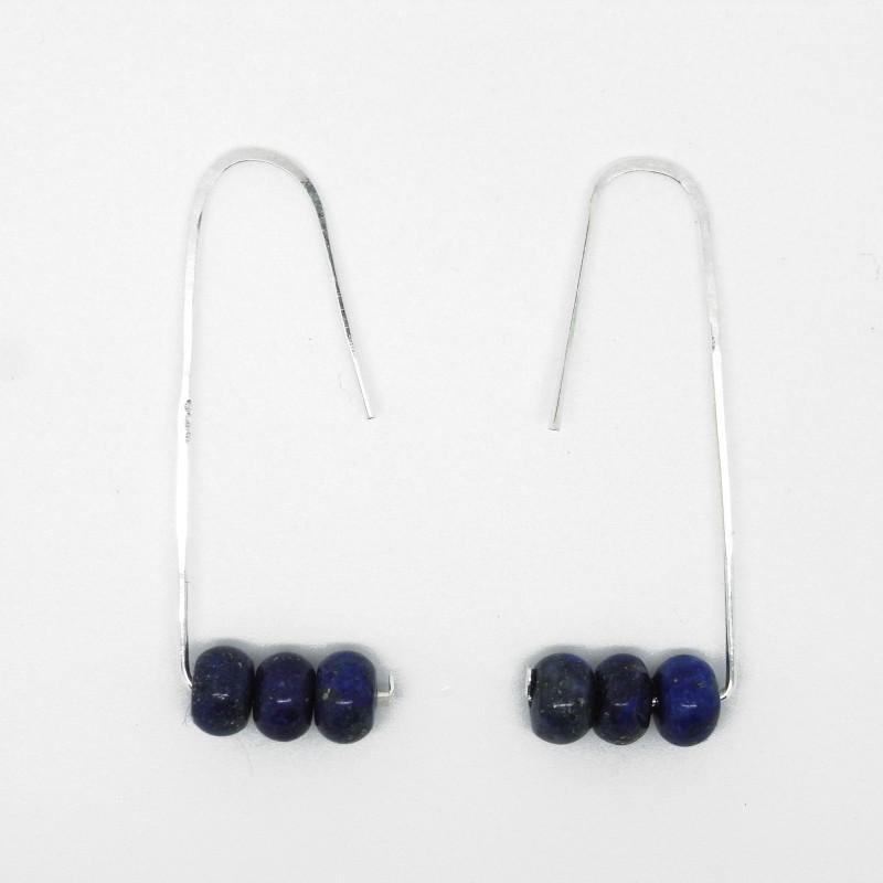 Lapis Lazuli Earrings 1