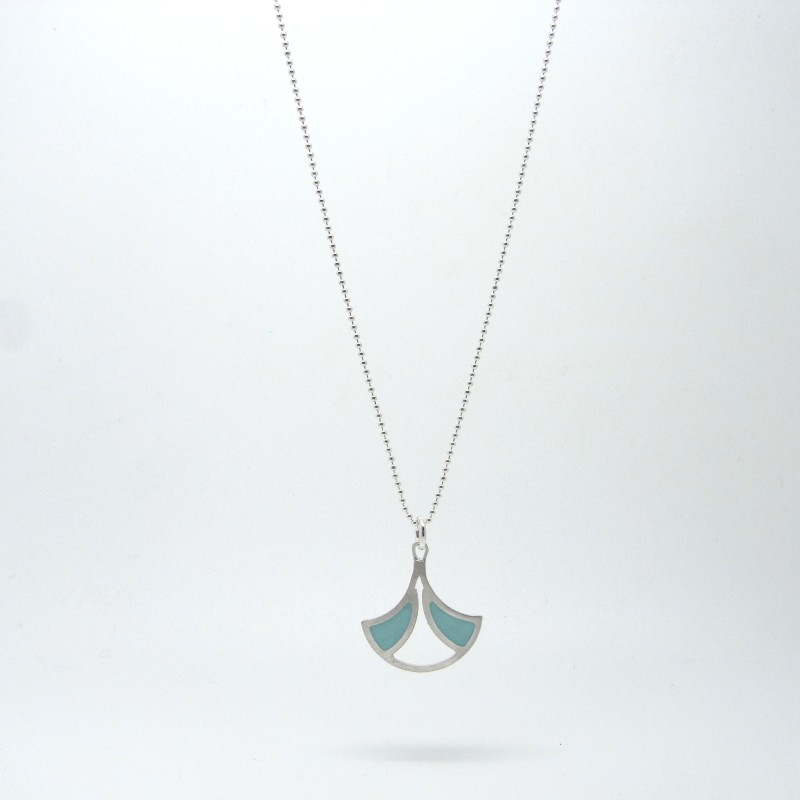 Small Fan Necklace (made to order)