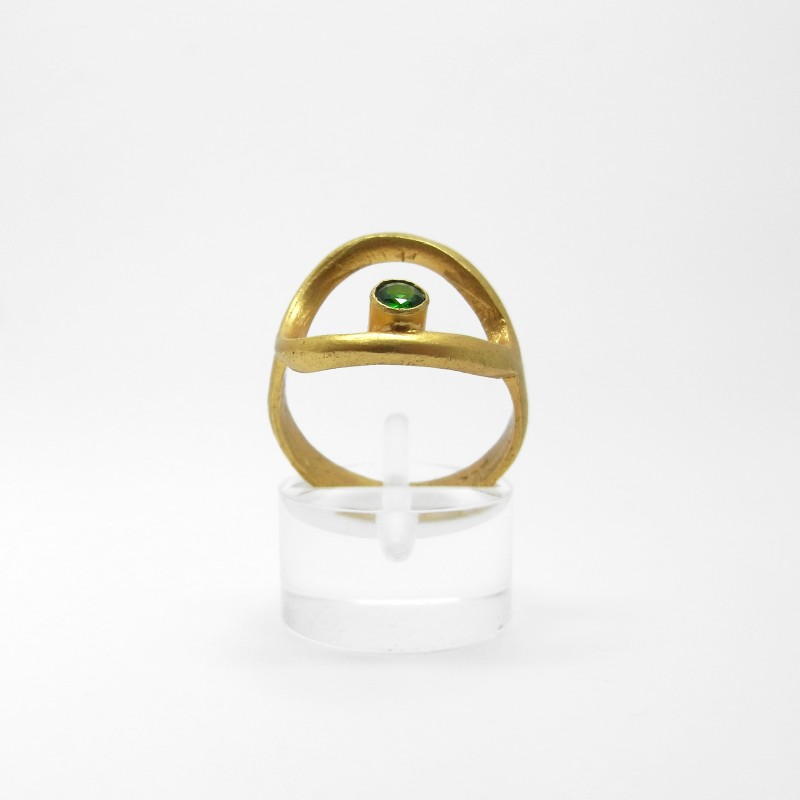 Ring with Tourmaline Stone
