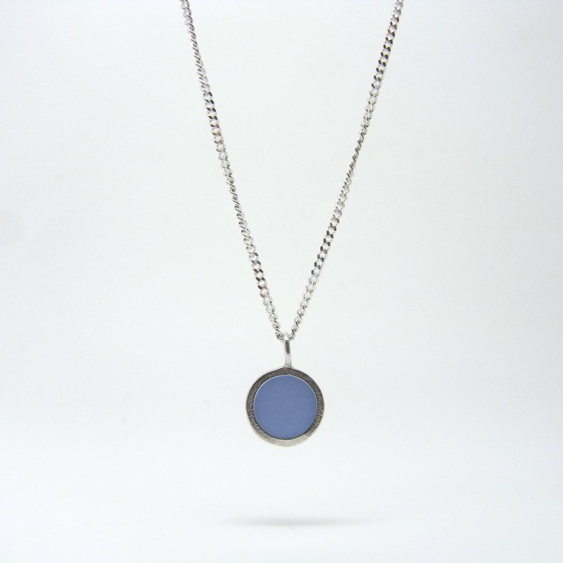 Small Coloured Dot Necklace (made to order)