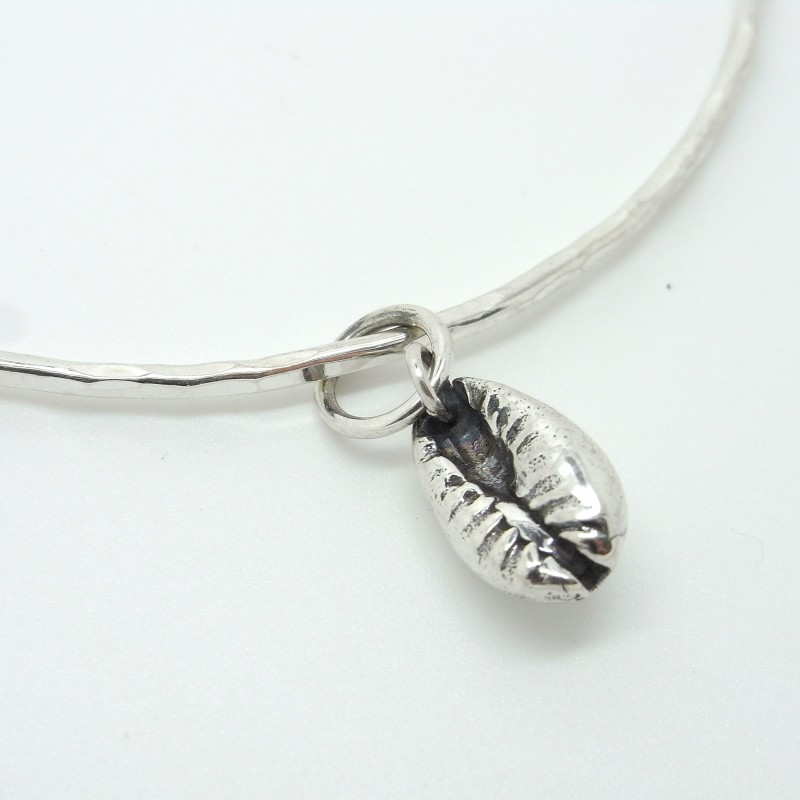 Cowry Shell Charm Bracelet