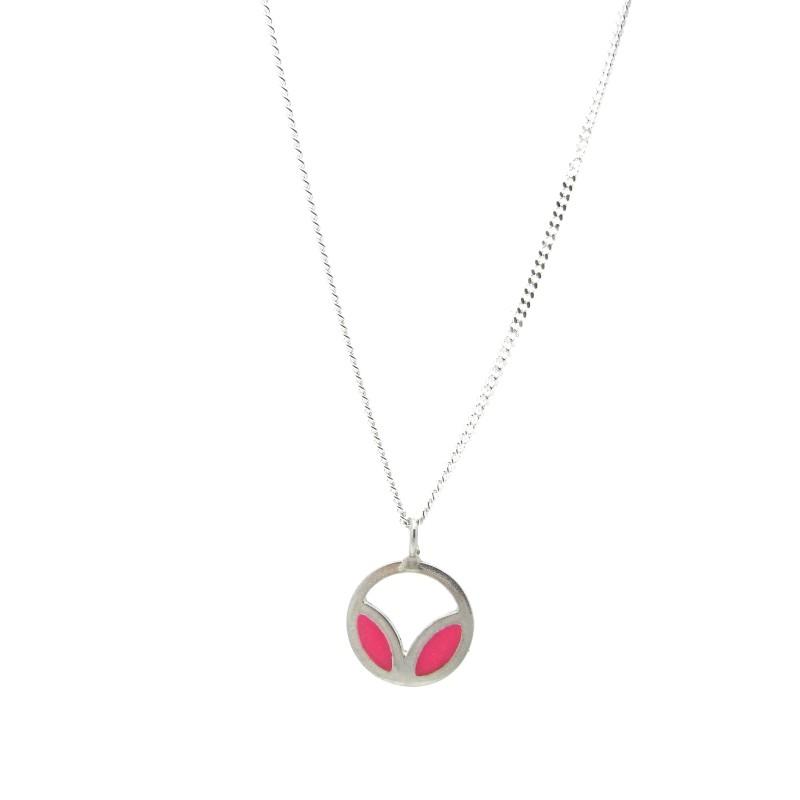 SALE - Petal Necklace Pink