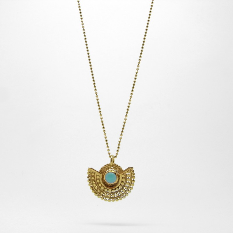 Deco Necklace - Turquoise G