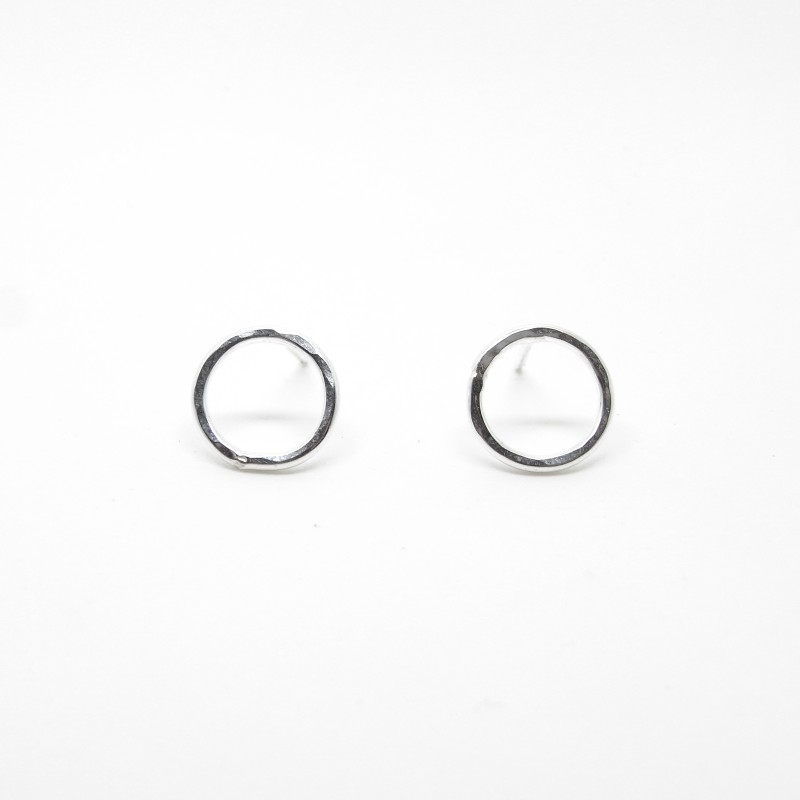 SALE - Small Planished Studs 10mm