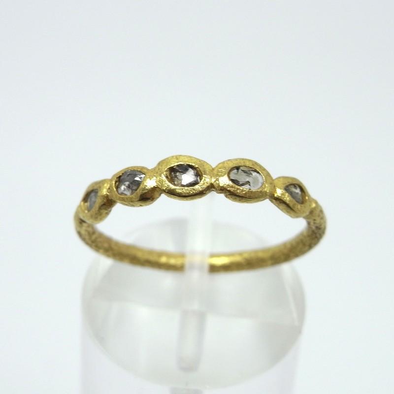 Rustic Diamond Ring