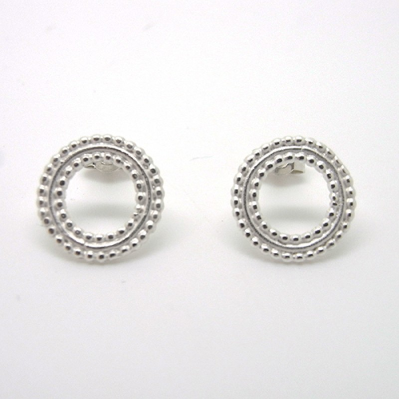 Beaded Ring Studs