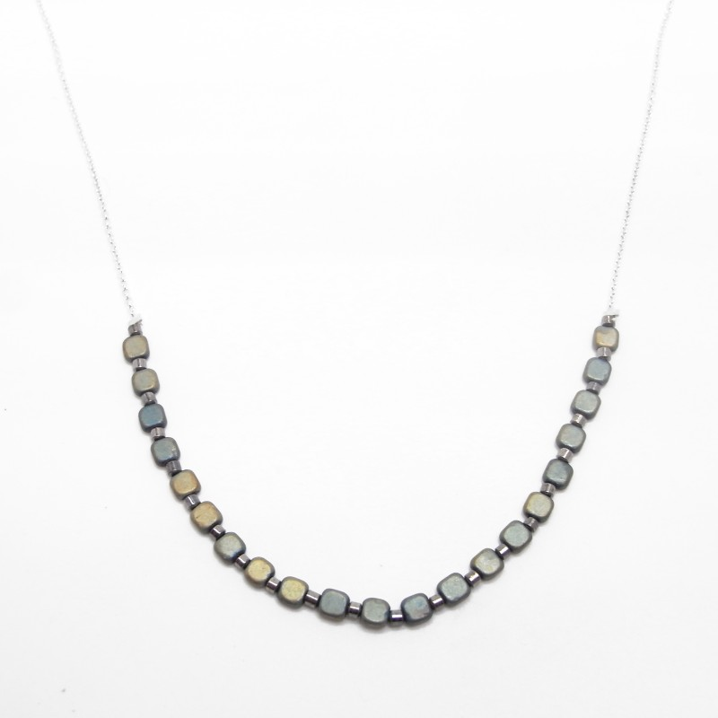 SALE - Hematite Necklace