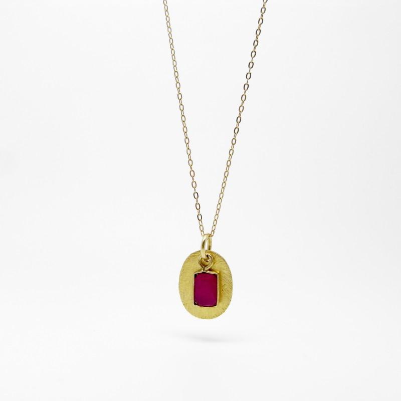 SALE - Pink Quartz Necklace