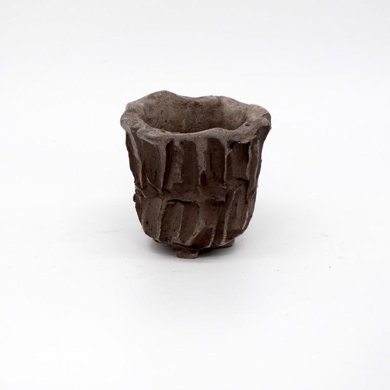 Mini Vase - Tree Bark