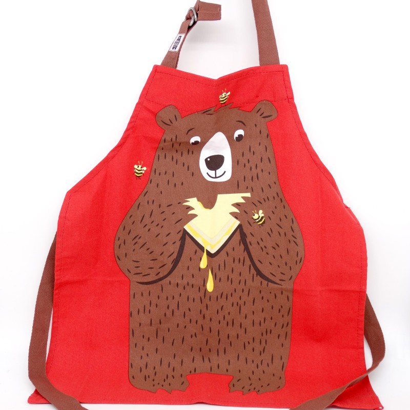 Fred the Bear Apron