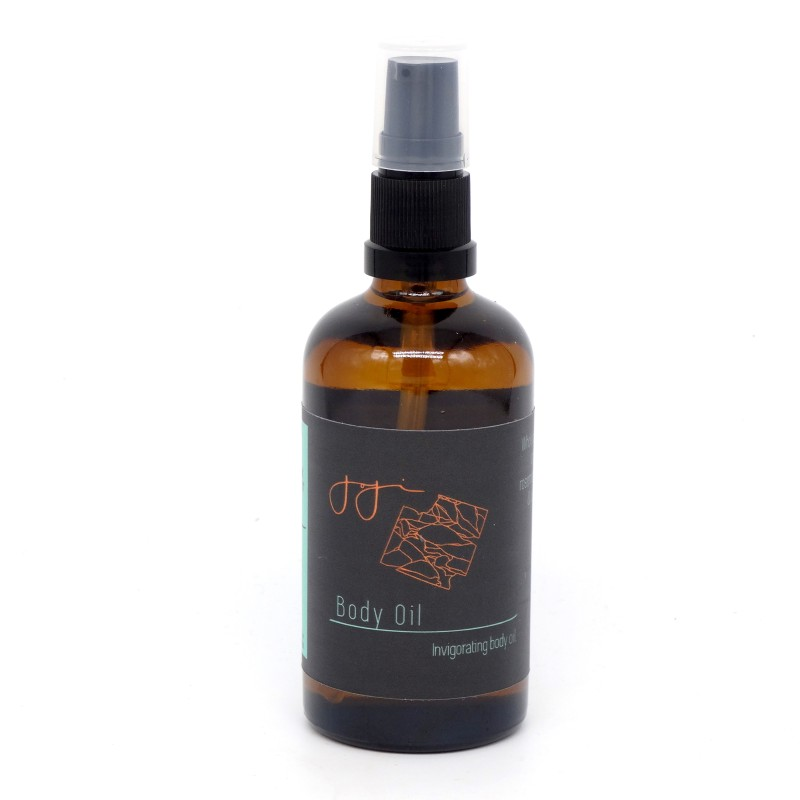 Body oil - invigorating