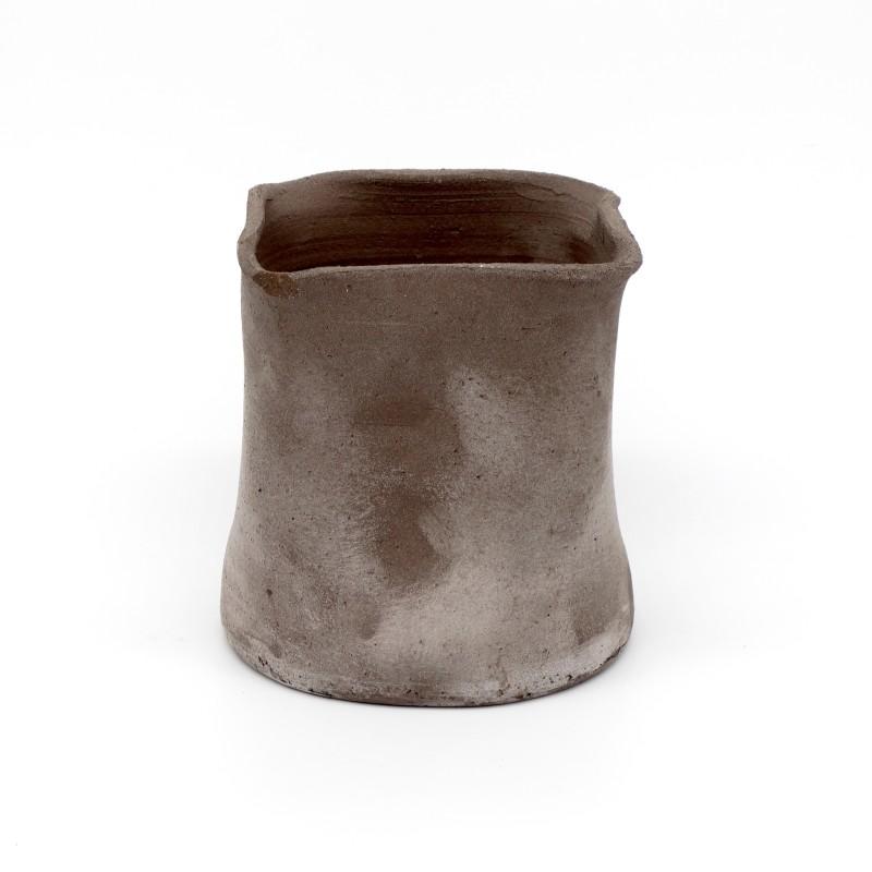 Black Terracotta Vase - medium