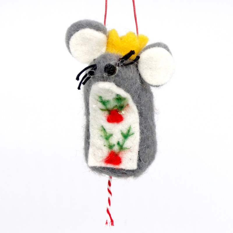 Gisela Graham - Wool Mouse