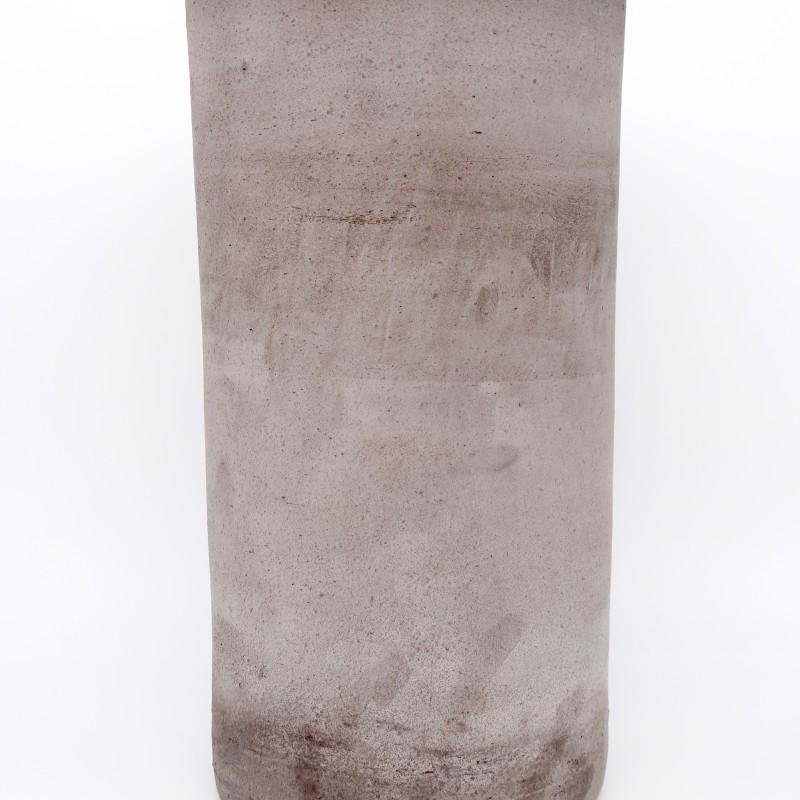 Black Terracotta Vase