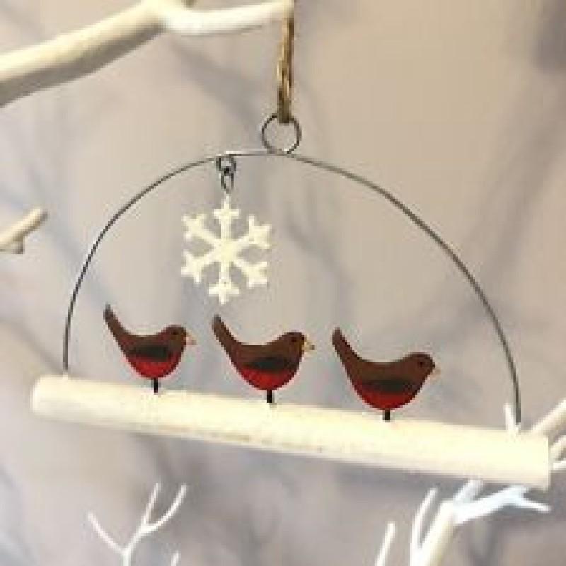 Mini robins on stick
