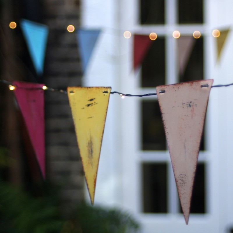 Bunting lighting multicoloured