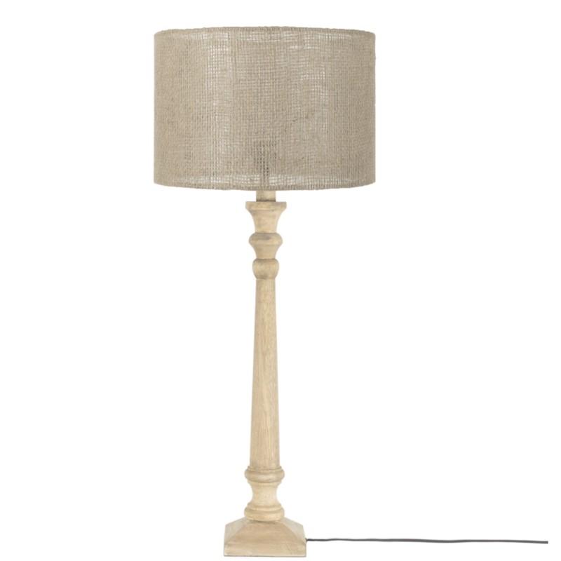 Lampfot i trä