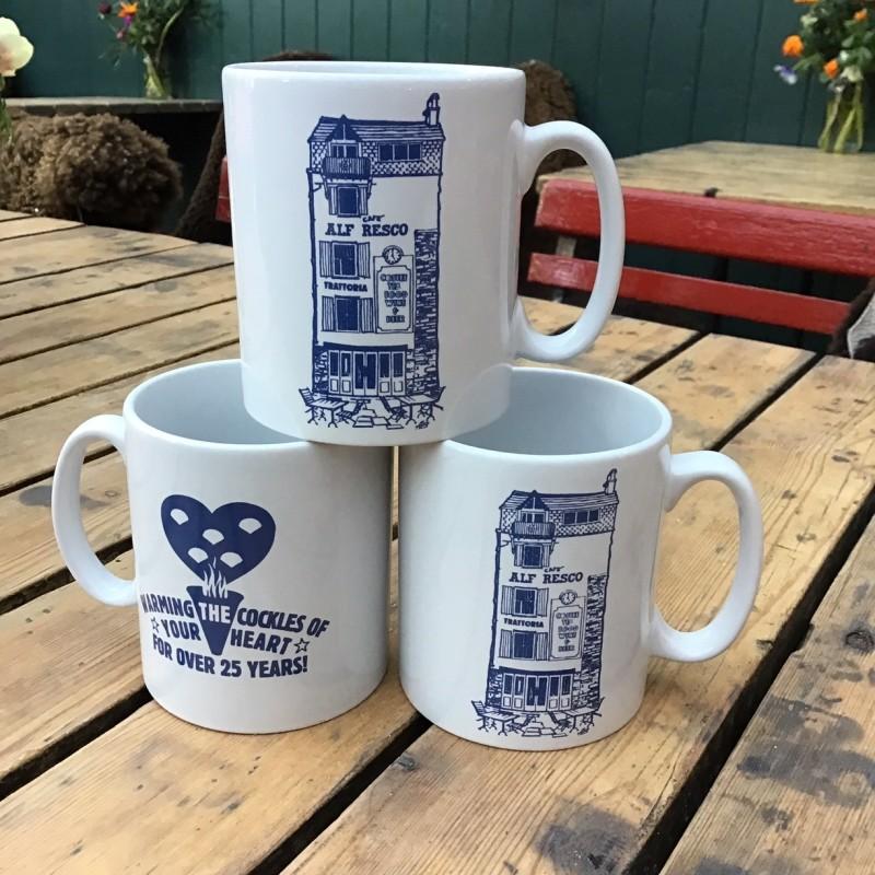 Alf's 25th Anniversary Mug
