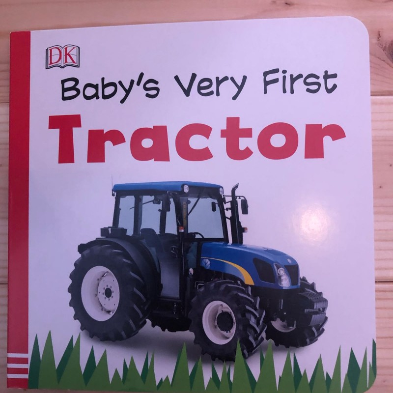 Baby's very first tractor