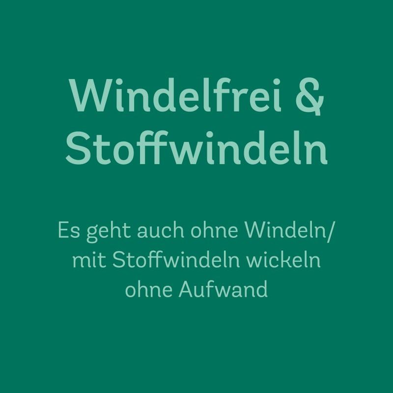 6. April 2020 | 10.00–11.30 Uhr<br>Windelfrei und Stoffwindeln