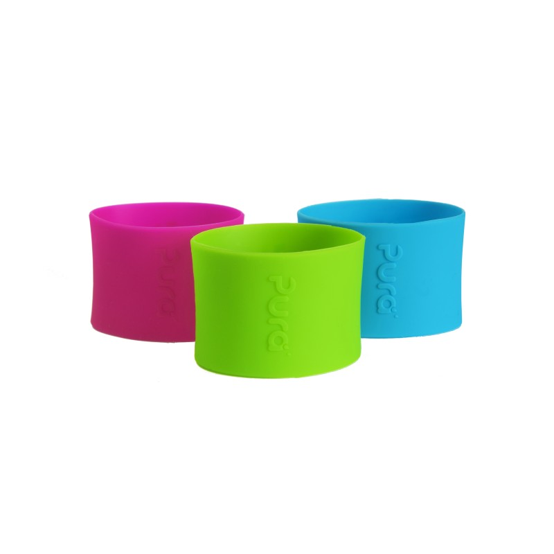Purakiki farbiger Silikonüberzug für 150 ml
