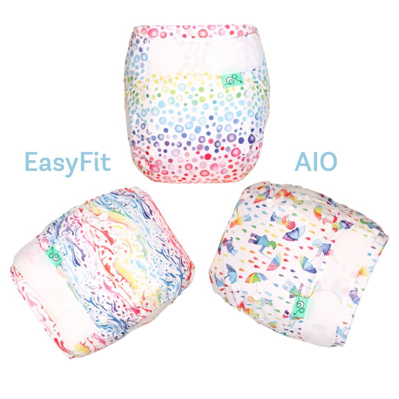 EasyFit NEW Elements, Stoffwindel AIO