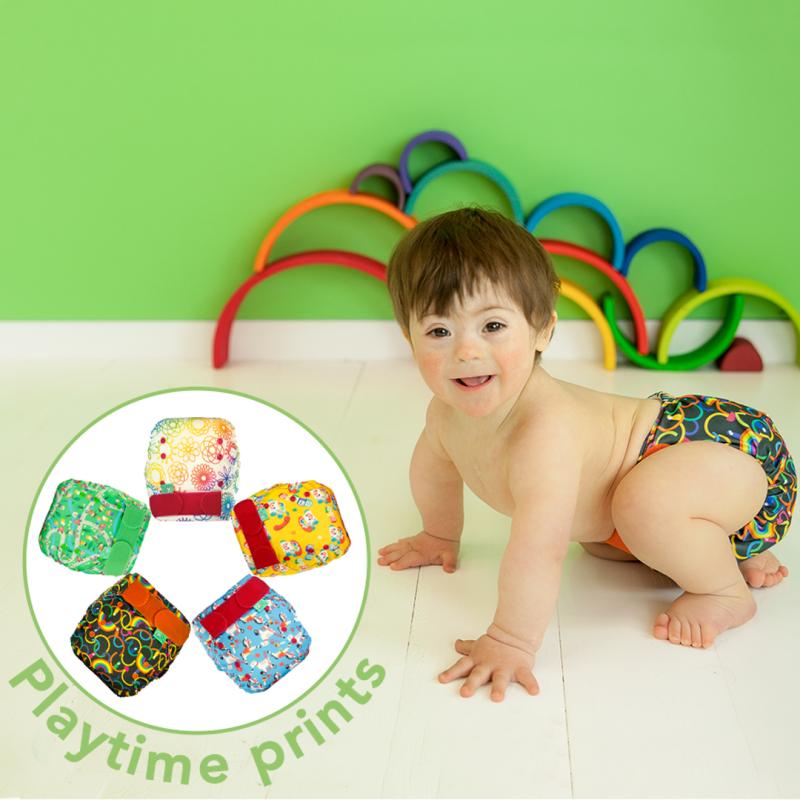 Playtime Prints, EasyFit STAR AIO, OneSize TotsBots