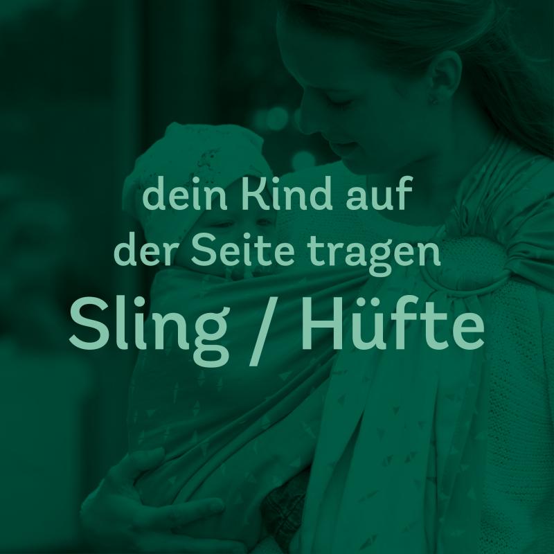 Trageberatung – Sling/Hüfte