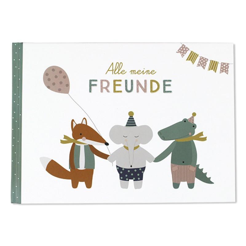 Alle meine Freunde, Buch Kindergarten/Schule, ava&yves