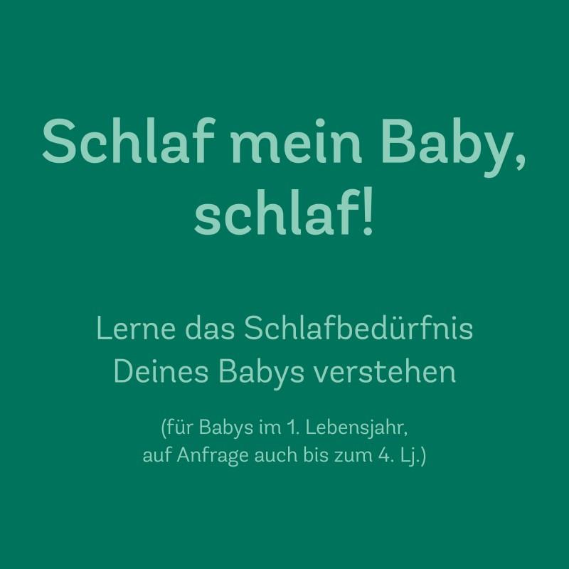 30. März 2020 | 10.00-12.00 Uhr<br> Schlaf mein Baby, Schlaf!