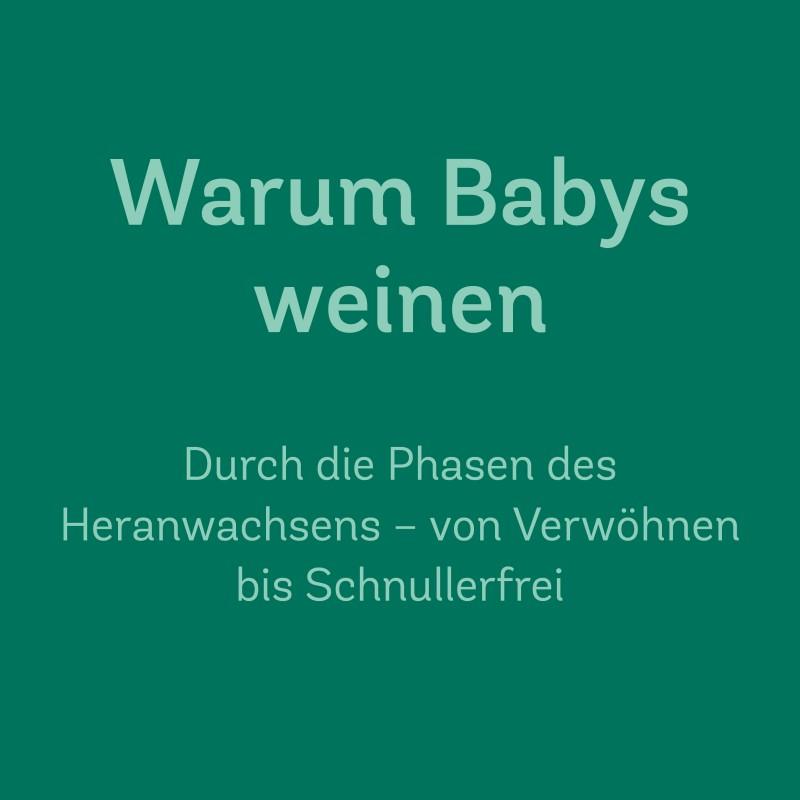 21. Okt. 2019 | 10.00–12.00 Uhr<br>Warum Babys weinen