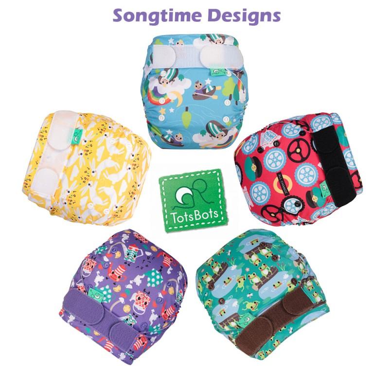 Songtime Design, EasyFit STAR, AIO, OneSize TotsBots