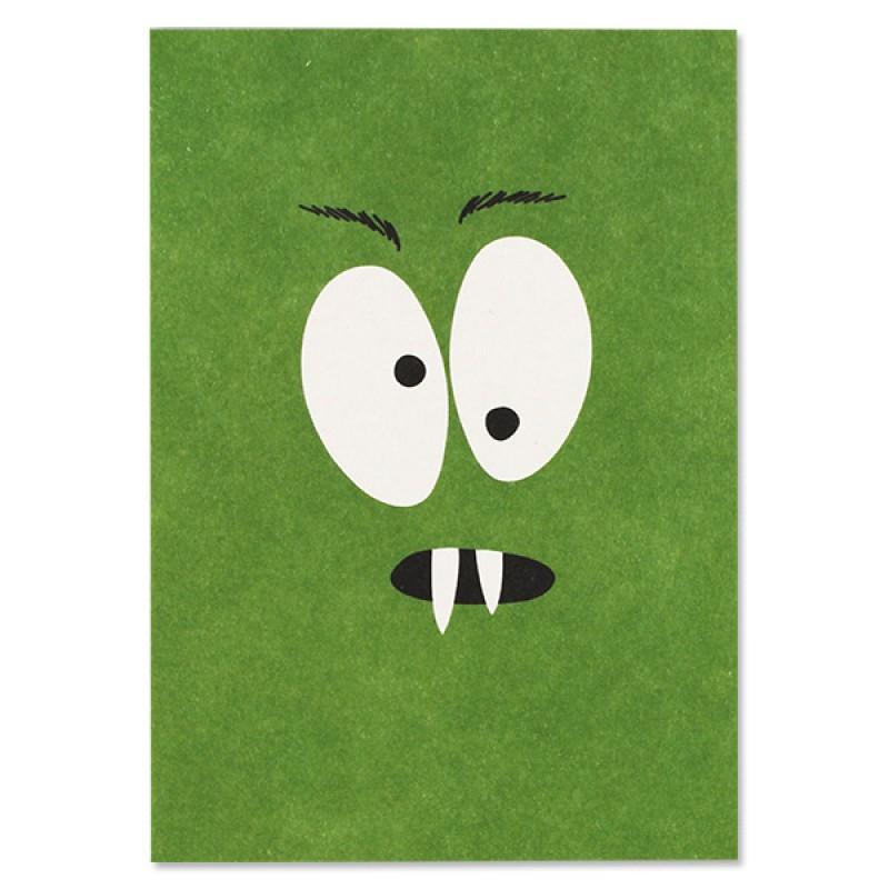 Postkarten Monster, Ava&Yves, Recyclingpappe