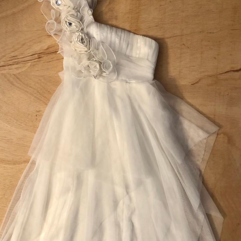 Gr. 116-122 Festliches Kleid