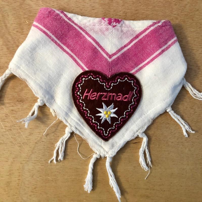 Trachten Dreieckstuch Herzmadl