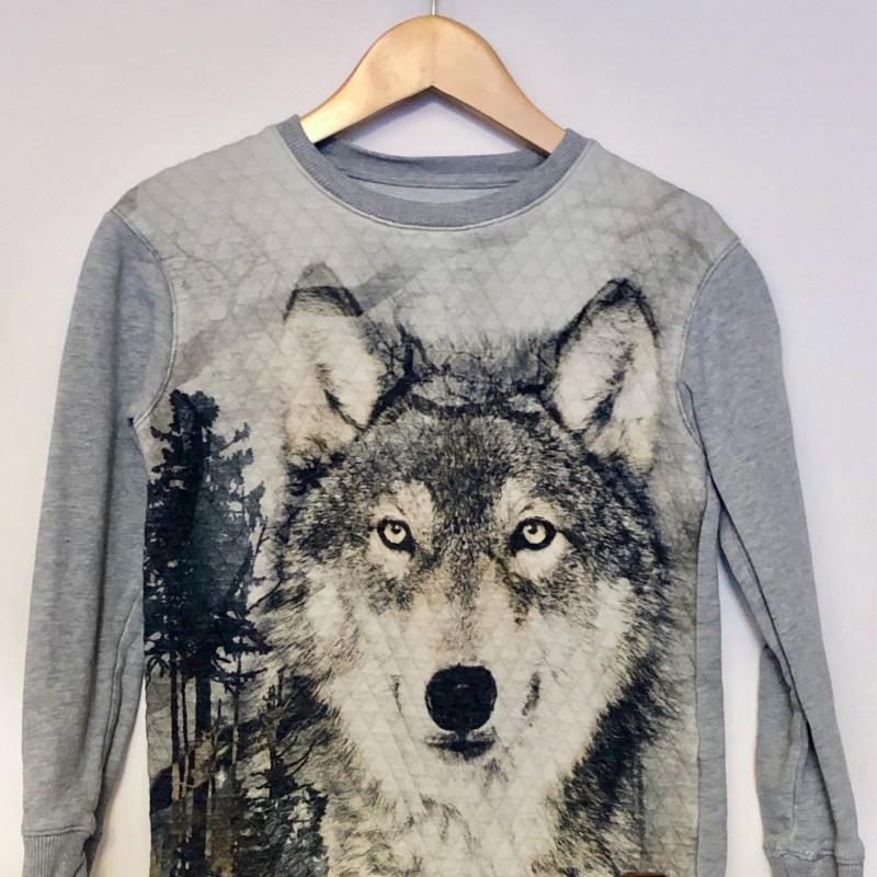 Gr. 122 Jako'o Pullover Wolf