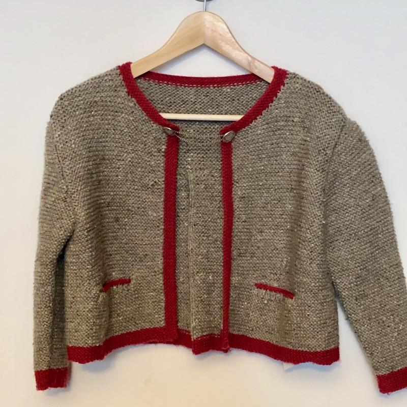 Gr. 122-128 Handmade Trachtenjacke