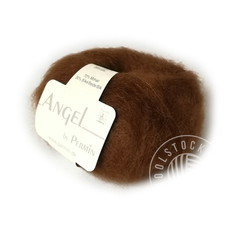 Angel mohair 173 brun