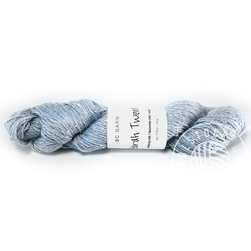 BC Sarah Tweed 16 baby blue