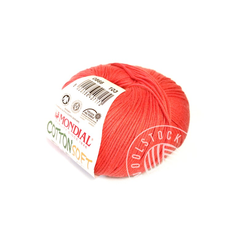 CottonSoft Bio 866 coral